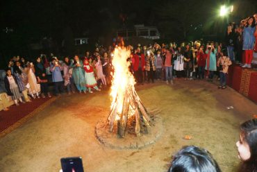 BONFIRE AT MAIN CAMPUS S.R.A