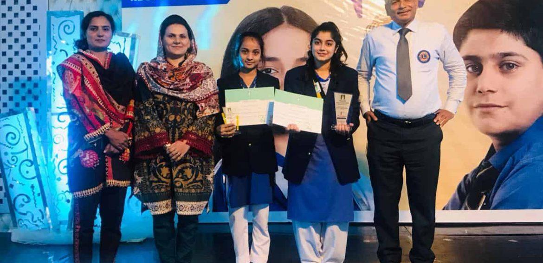 Huraima Faisal and Ayesha Nadeem from MTZ Campus got 1st & 3rd Position Regional Level Speech & Debate Contest
