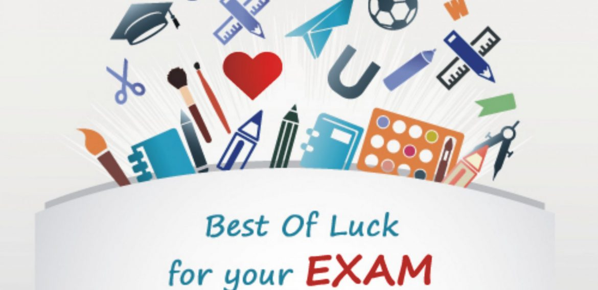 Good Luck for Final Exams 2020